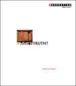 What is Truth?, Vol. 5 Iss. 3 (cover)